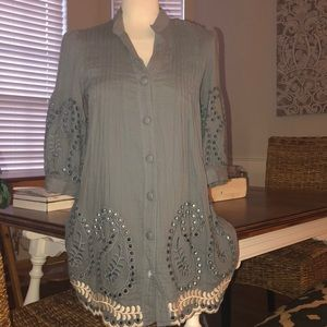 Anthropologie hazel tunic dress XS